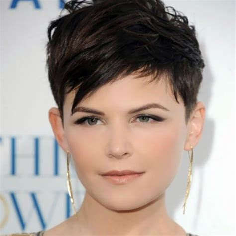 pixie haircut overweight 25 hairstyles to slim down round faces rounding face