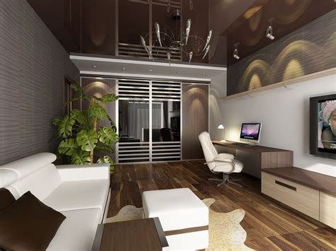 interior contemporary interior design studio apartment