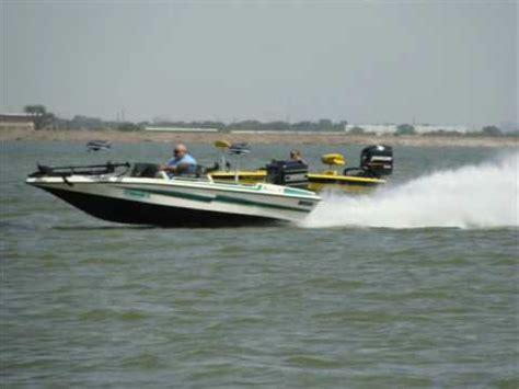 fastest bass boat youtube bullet vs basscat youtube
