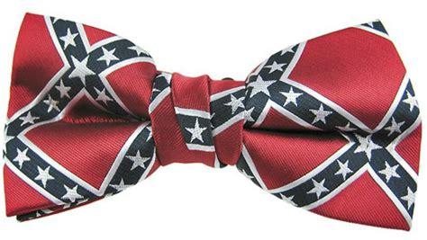 pre confederate rebel flag bow tie