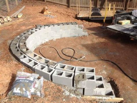 building a pit using pavers visual guide for building a backyard pit with blocks and stones 18 pics izismile