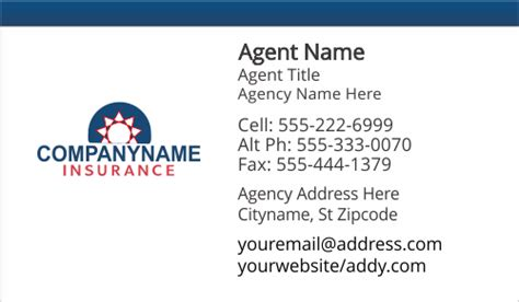 insurance business card templates free american family farmers insurance business card templates