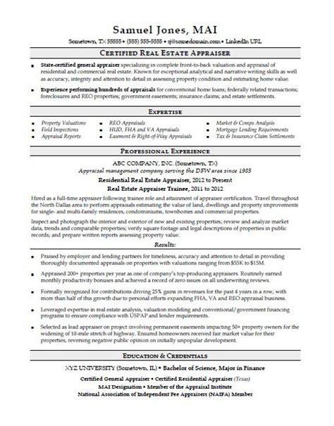 Realtor Resume by Real Estate Resume Sle