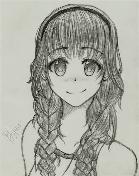 anime hairstyles braids anime braids by megahetalian5212 on deviantart