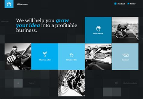 design inspiration websites 2014 30 simple and organized grid layout websites blueblots com