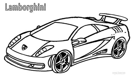Printable Lamborghini Coloring Pages printable lamborghini coloring pages for cool2bkids
