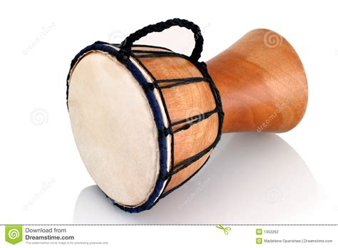Jambe Drum   Horizontal Profile Stock Photography   Image
