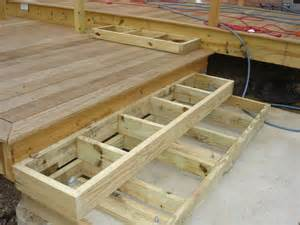how to build and wide stairs search deck