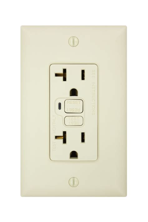 gfci outlet not working bathroom gfci outlet trips whenever something is plugged in and