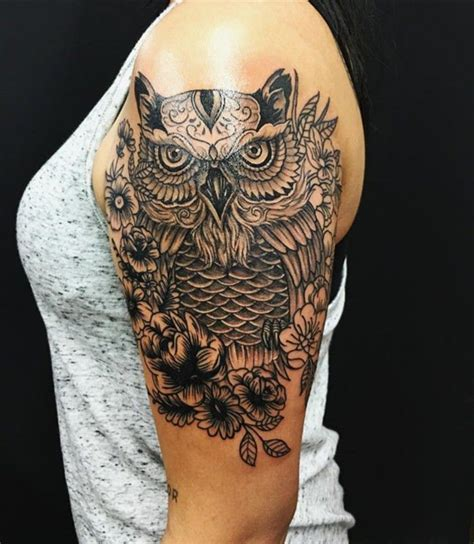 owl tattoo arm girl 101 highly recommended owl tattoos in the us wild tattoo art