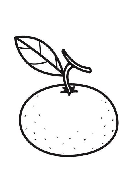 dibujos para colorear grandes dibujo para colorear mandarina img 23177