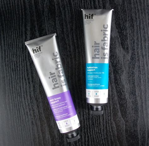 Hair Is Fabric Detox Review by Hif Hair Is Fabric Anti Brass And Hydration Support
