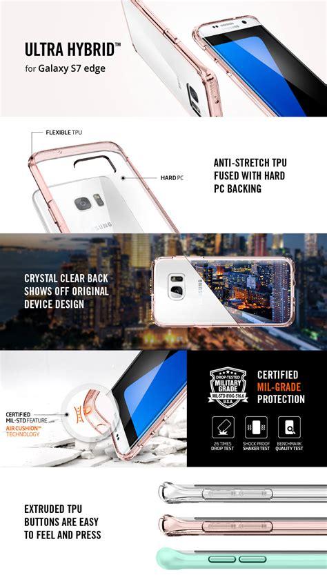 Laris Spigen Samsung Galaxy S7 Edge Ultra Hybrid spigen 174 ultra hybrid 556cs20036 samsung galaxy s7 edge