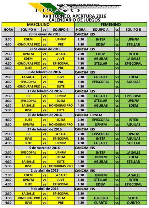 Calendario De La Escuela La Lisavo Dio Comienzo A Su Ceonato Y A La Escuela