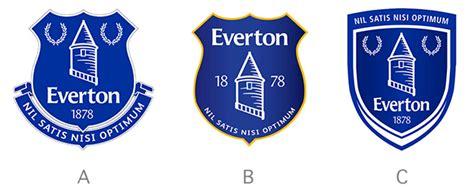 everton reveal  club crest  chosen   club
