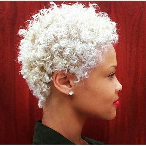 tapered curly weave style platinum blonde hair tapered short curly tapered looks