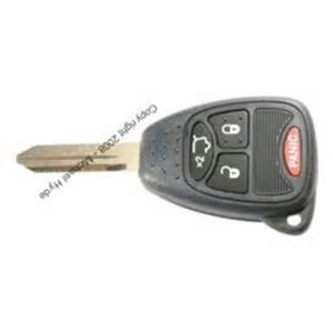 Jeep Liberty Key Liberty 2008 11 Jeep 4 Button Remote Key Factory