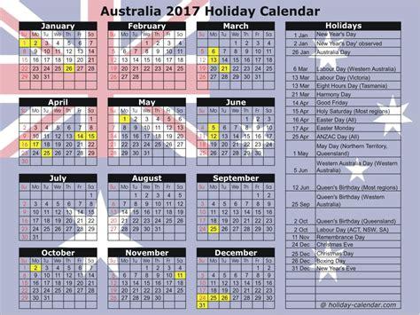 printable calendar 2016 western australia australia 2017 2018 holiday calendar