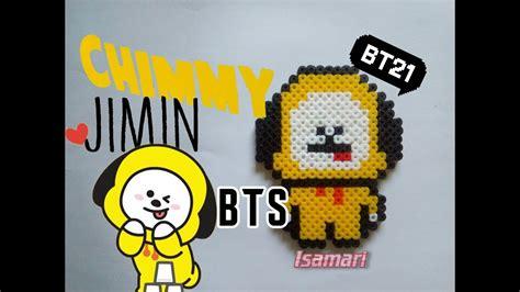 chimmy bt jimin bts hama beads youtube