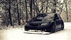 Subaru Snow Black Jdm Matte Snow Subaru Subaru Impreza Subaru Imp