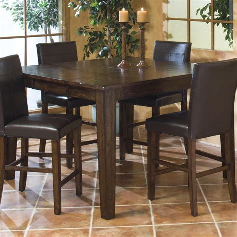 Kitchen Island Gathering Table by Intercon Kona Solid Mango Gathering Table With Butterfly