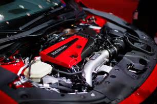 Honda Civic Type R Engine 2017 Honda Civic Type R Production Car Debuts At Geneva