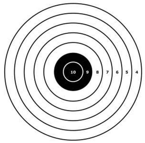 printable shooting targets for bb guns bb gun targets cake ideas and designs