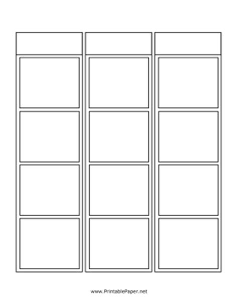 blank comic book variety of templates 2 9 panel layouts 110 pages 8 5 x 11 inches draw your own comics printable blank vertical comic