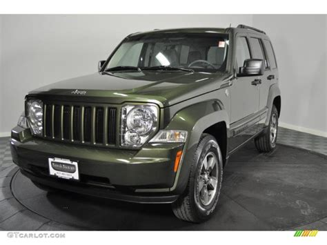 green jeep liberty 2008 2008 jeep green metallic jeep liberty sport 4x4 44902243