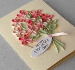 paper cards quilled s day card