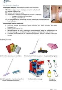 le nettoyage des chambres en de retraite pdf