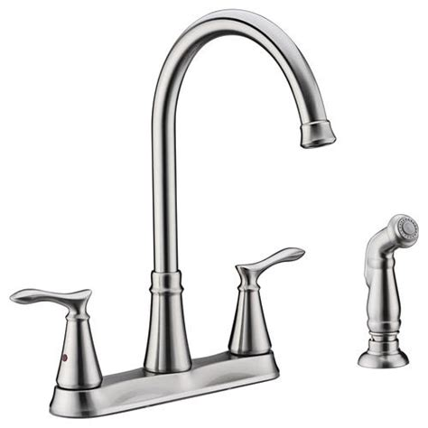 kitchen faucets at menards tuscany marianna 2 handle kitchen faucet at menards 174