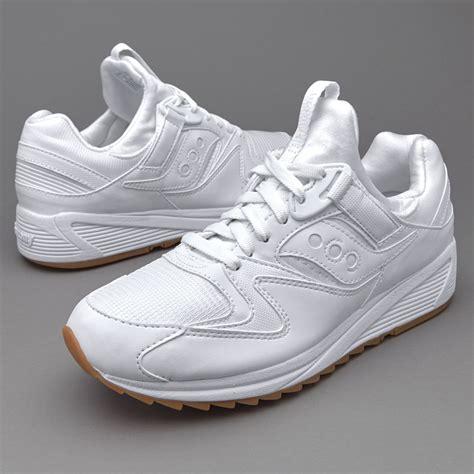 mens shoes saucony grid 8500 white shoes 127981