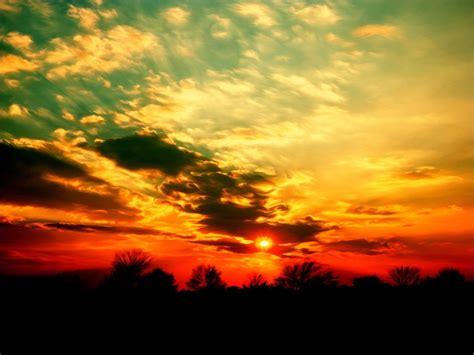 imagenes de paisajes llaneros fonditos atardecer paisajes atardecer