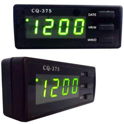 Lu Led Mobil Berbagai Macam Warna jual berbagai macam jam mobil voltmeter dan termometer