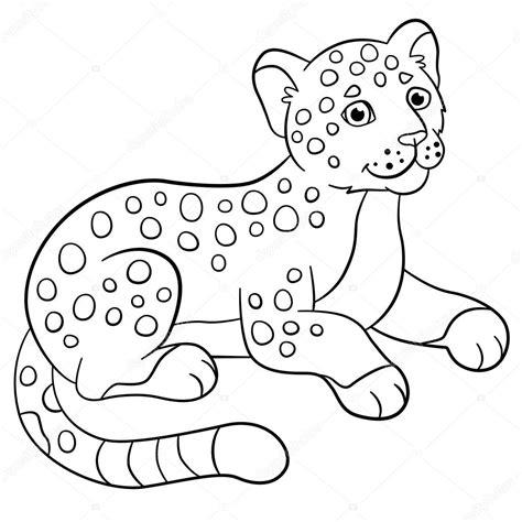 imagenes de jaguares para dibujar dibujos para colorear sonrisas de jaguar de lindo beb 233