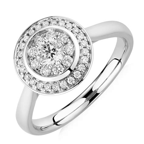 Engagement Ring With 1 Carat Tw Of Diamonds In 14ct Yellow engagement ring with 1 2 carat tw of diamonds in 10kt