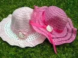 Topi Anak Cewek 1 aneka gambar model topi anak anak
