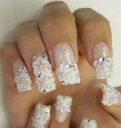 fotos de uñas acrilicas llamativas 7 imagenes de u 241 as para matrimonio hermosas