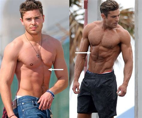 Steines Diet And Workout by Did Zac Efron Take Steroids For Baywatch