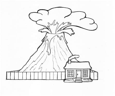 printable coloring pages volcanoes free printable volcano coloring pages for kids