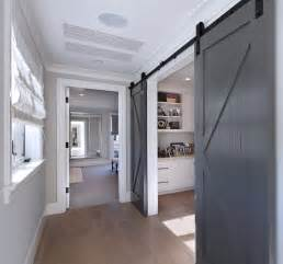 Painted Barn Doors Neutral Cape Cod Style Home With Open Layout Home Bunch Interior Design Ideas