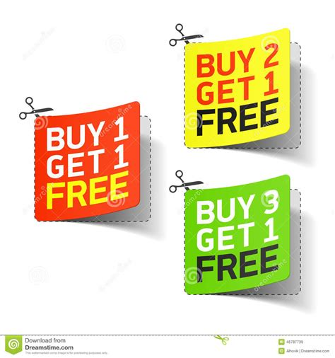 Promo Popsocket Buy 1 Get 1 buy 1 get 1 free promotional coupon stock vector image 46787739