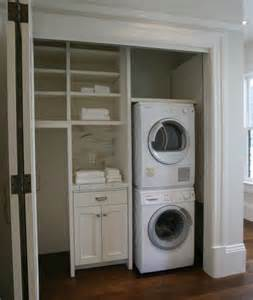 Enclosed Closet Systems 25 Best Ideas About Stacked Washer Dryer On
