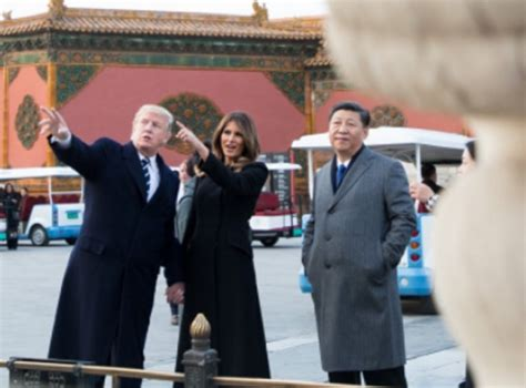 donald trump visit china trump from china there is a solution for north korea