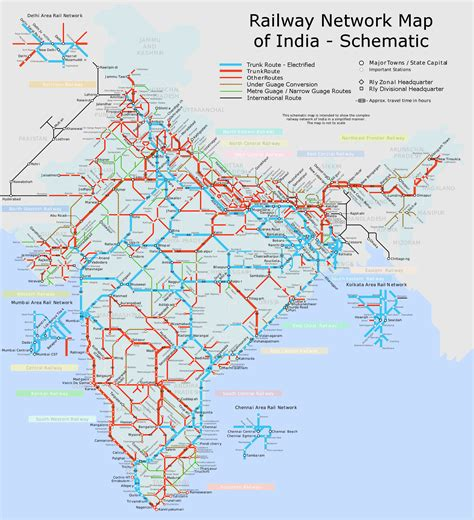 india railway schematic map kolkata india mappery