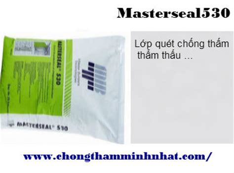Masterseal 540 Waterproofing toa ch盻創g th蘯 m 苟a n艫ng