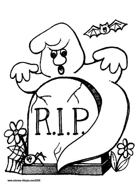 imagenes para dibujar halloween fantasmas en halloween dibujos infantiles para colorear