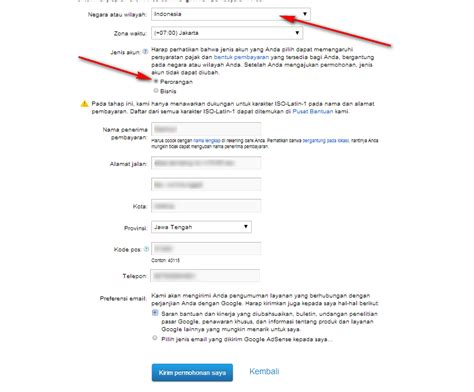 cara daftar google adsense indo melalui akun youtube givemore125 cara mendaftar akun google adsense lewat