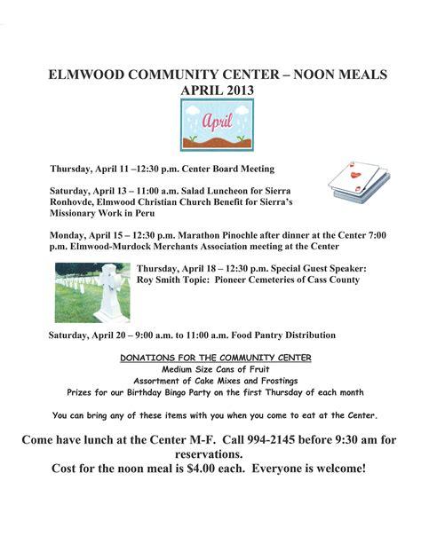 elmwood newsletter may 1 2013 elmwood newsletter april 17 2013